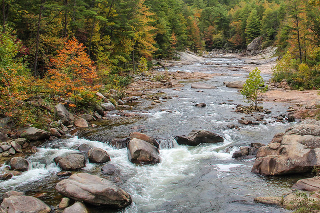 Wilson Creek Wild And Scenic River North Carolina