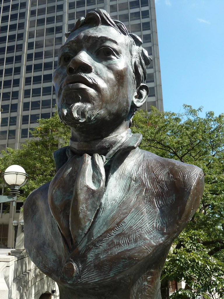 chicago pioneer court jean baptiste point du sable 1745 1818 founder of chicago sculptor. Black Bedroom Furniture Sets. Home Design Ideas