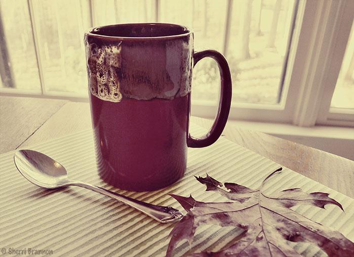 monochromatic mug
