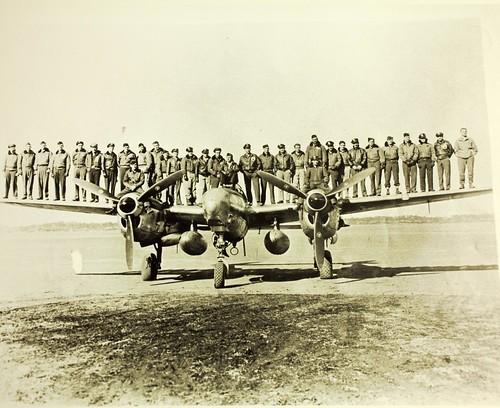 5th Air Force; 8th Photo Recon Sq. F-5 Lightning