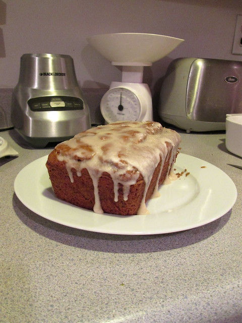 Peach Chai Bread