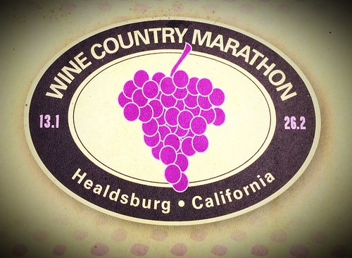 Wine country marathon