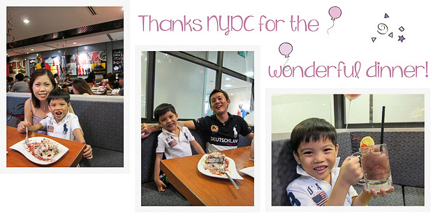 Dinner at nydc
