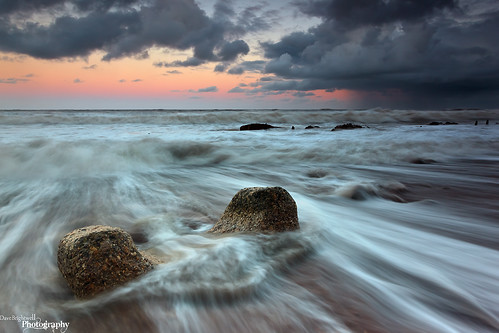 Stormy Seaham by Dave Brightwell