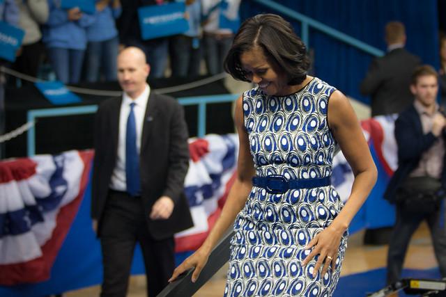 Michelle at UNC-9