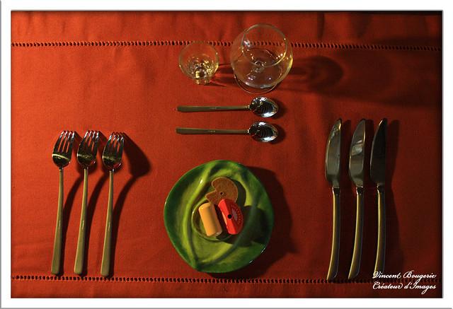 Dressage de table flickr photo sharing - Dressage de table ...