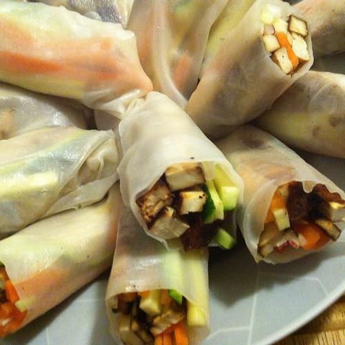 Mmm fresh spring roll