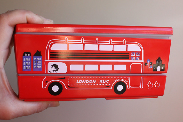 Double Decker Bus Bento Box