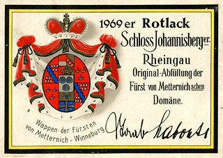 1969 - Schloss Johannisberger (Rhine)