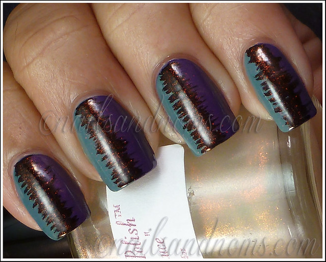 31DC2012 Day 6 Violet Nails - 3