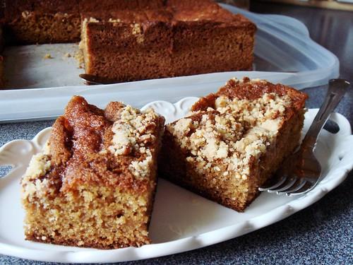 Peanut Butter Granola Cake