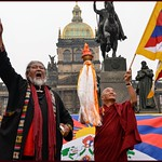 Flame of Truth (Plamen Pravdy): Action for Tibet 2012, Prague.