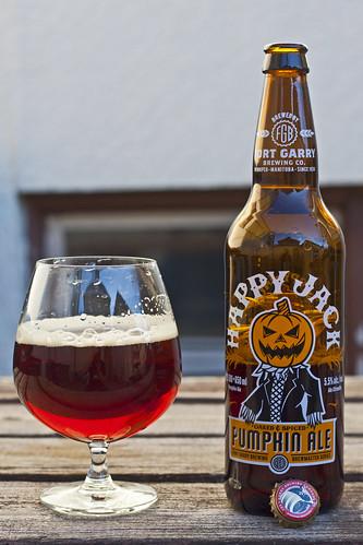 Review: Fort Garry Happy Jack Pumpkin Ale (2012) by Cody La Bière