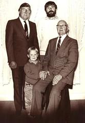 French Folland with Lionel, Brenton & John c1992
