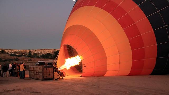 Passeio de balão na Capadócia