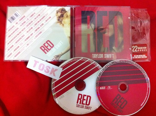 Taylor Swift – Red (2012) (MP3 + iTunes Plus AAC M4A + FLAC) [Album] | NhacHot