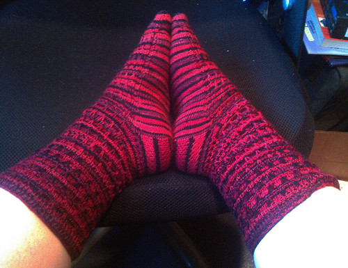 Siouxsie the Scylla Socks - Side