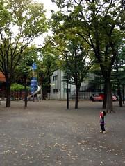 朝散歩 - 恵比寿公園 (2012/10/23)