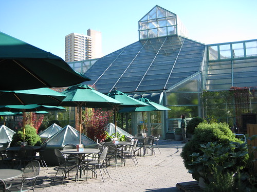 Conservatory and Cafe