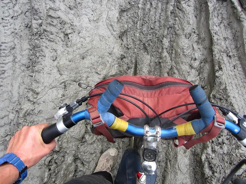 Karnali Highway mud