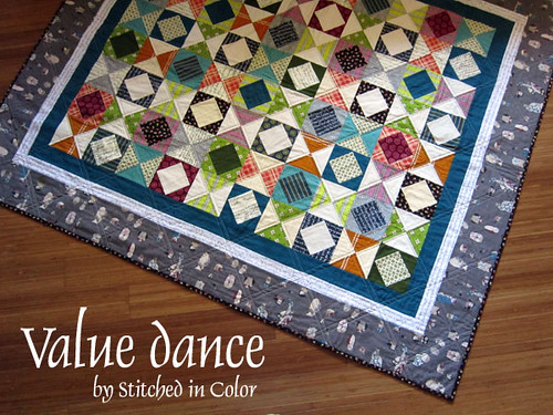 Value Dance quilt