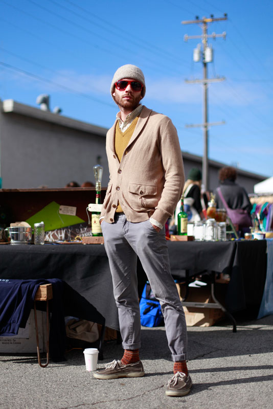 mustard_im12 street style, street fashion, San Francisco, men, Quick Shots, Wisconsin Street, indie mart,
