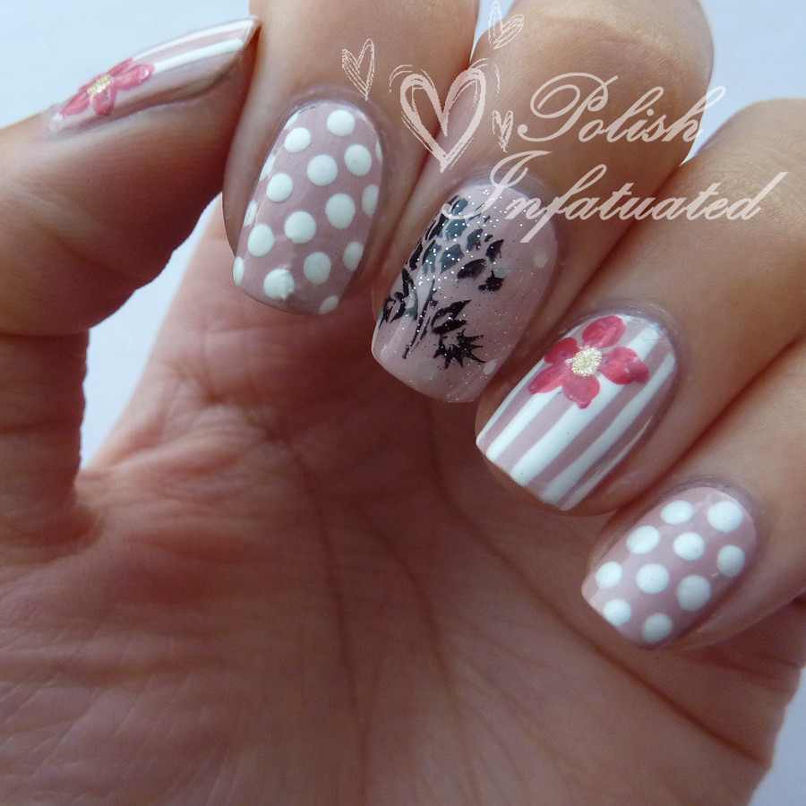 polka dot, stripes and flowers2