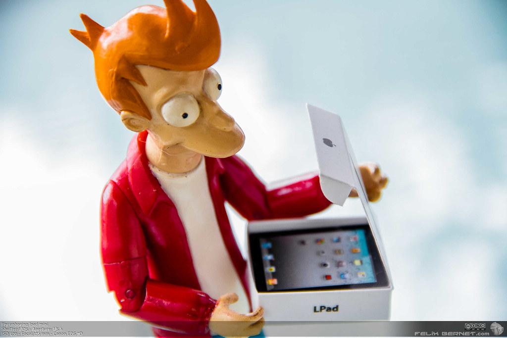 Fry unboxing Ipad mini
