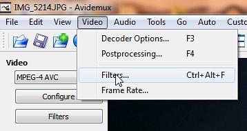 05 avidemux filter