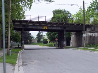 Michigan Central Overpass