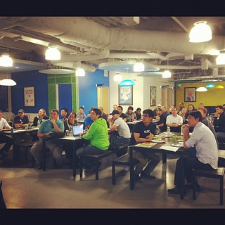 Packed house at our first Silicon Valley user group! We love @BoxHQ!
