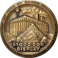 Whitman Century 21 medal obverse