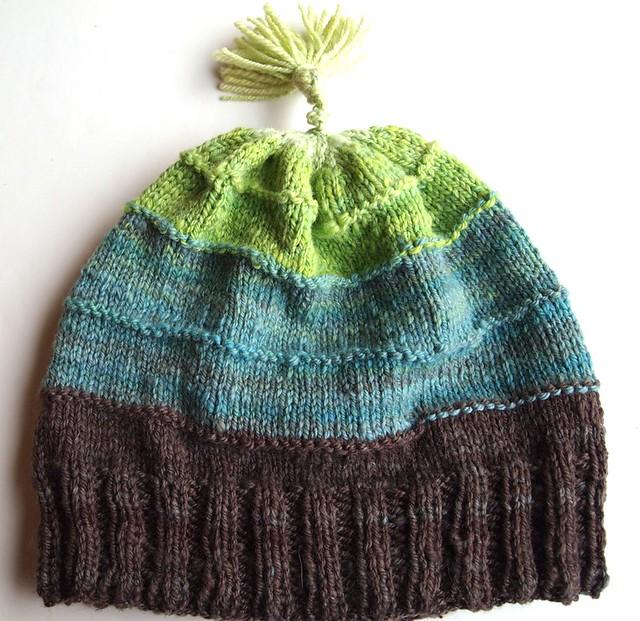 handspun Metro hat