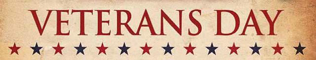 Veterans Day Banner from Flickr via Wylio