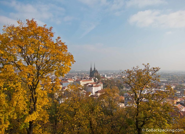 View of Brno from Spilberk Castle