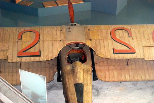 Georges Guynemer's SPAD VII,  Musee de l'Air et de l'Espace, Le Bourget, Paris.