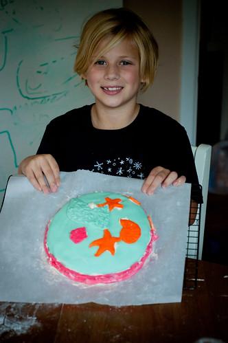 Jessica's cake!