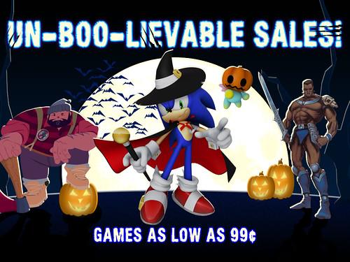SEGA Halloween Sale