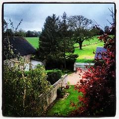 Normandie sous la pluie, étonnant non ?