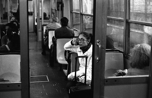 (Raining - A Passenger on the Phone)