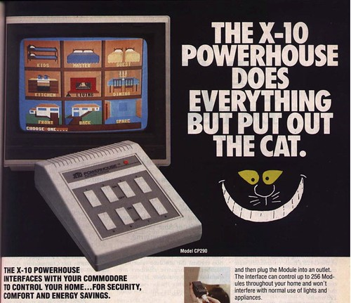 Ad for the X10 Powerhouse