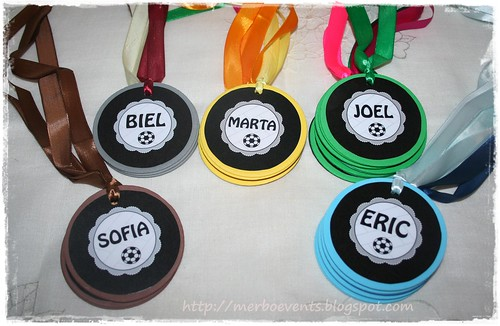 medallas2 kit futbolero Merbo Events