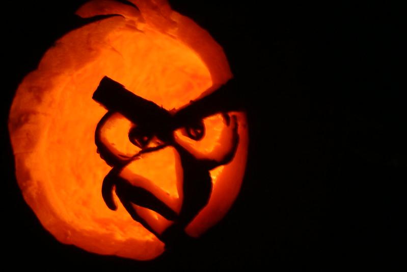 Angry Bird Pumpkin