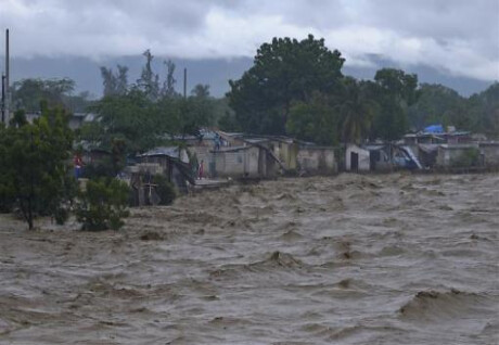 Impact of hurricane in Haiti during October 2012. Dozens were killed throughout various regions of the Caribbean. by Pan-African News Wire File Photos