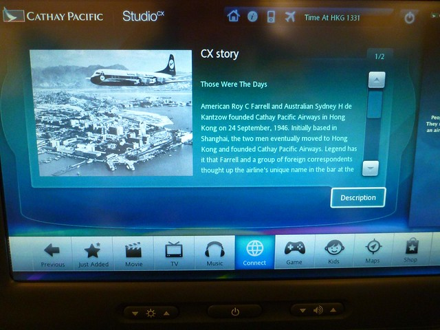 Cathay Pacific was founded in 1946 by American Roy C Farrell and Australian Sydney H De Kantzow