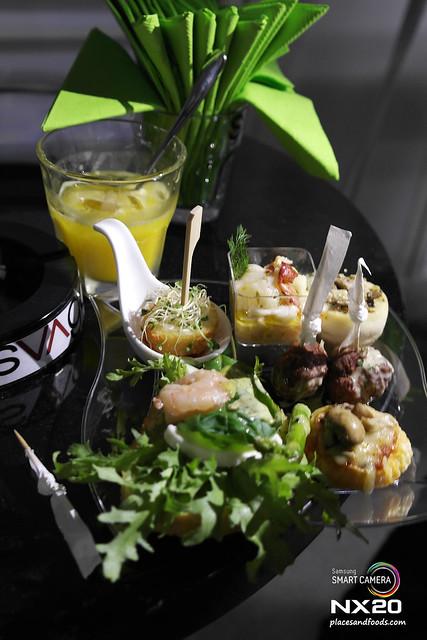 svago & limoncello food