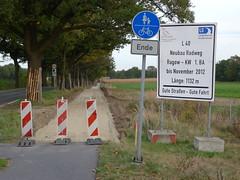 Neubau Radweg Ragow - KW 1.BA #1