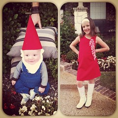 Kayson and Ky ready for trick or treating.