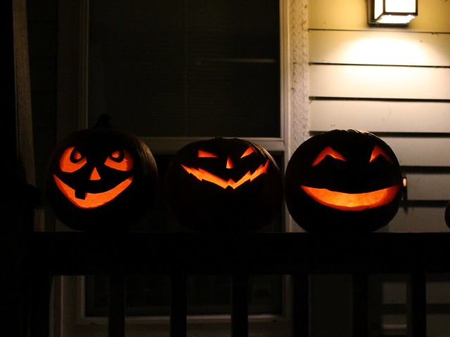Pumpkins, 2012: Nighttime