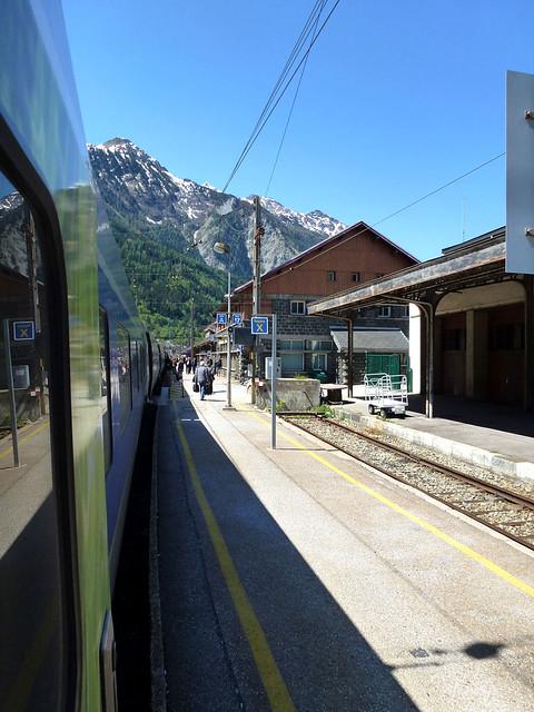 Florence - jour 1 - 004 - Gare de Modane